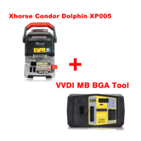 In Stock Xhorse Condor Dolphin XP005 Automatic Key Cutting Machine Plus VVDI MB Tool with 1 Free Token Everyday