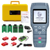 [US/UK Ship] OBDSTAR X-100 PRO Auto Key Programmer (C+D) Type for IMMO+Odometer+OBD Software Get Free PIC and EEPROM 2-in-1 Adapter