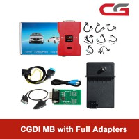 CGDI Prog MB Benz Key Programmer Support All Key Lost with Full Adapters for ELV Repair