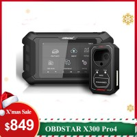 【Xmas Deals】OBDSTAR X300 Pro4 Pro 4 Key Master Auto Key Programmer Same IMMO Functions as X300 DP Plus