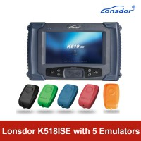 [US/UK Ship] Lonsdor K518ISE Programmer Plus SKE-IT Smart Key Emulator 5 in 1 Set Full Package