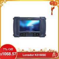 [US/UK Ship] Lonsdor K518ISE K518 Key Programmer for All Makes With BMW FEM/EDC Functions