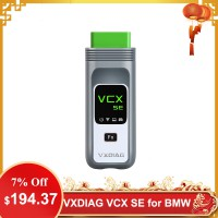 VXDIAG VCX SE for BMW Diagnostic and Programming Tool with V2019.9 Software HDD Support Online Coding