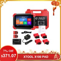 [US/UK Ship] Newest XTOOL X100 PAD Key Programmer With Oil Rest Tool Odometer Adjustment and More Special Functions