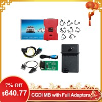 [US/UK Ship] CGDI Prog MB Benz Key Programmer Support All Key Lost with Full Adapters for ELV Repair