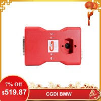 [US/UK Ship] CGDI Prog BMW MSV80 Auto Key Programmer with BMW FEM/EDC Function Get Free Reading 8 Foot Chip Free Clip Adapter