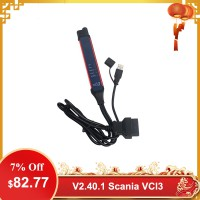 [UK Ship] V2.40.1 Scania VCI-3 VCI3 Scanner Wifi Diagnostic Tool Multi-language Support Win7/Win10