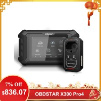 [UK Ship] OBDSTAR X300 Pro4 Pro 4 Key Master Auto Key Programmer Same IMMO Functions as X300 DP Plus