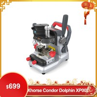 【Promotion】Xhorse Condor DOLPHIN XP007 Manually Key Cutting Machine for Laser, Dimple and Flat Keys