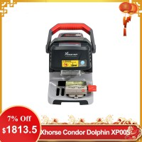 【UK Ship】Xhorse Condor Dolphin XP005 Automatic Key Cutting Machine V1.2.7 Works on IOS & Android with Built-in Battery