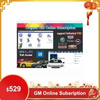 Original GM Online Subscription for One Year Work with GM MDI/GM Tech2/VCMII