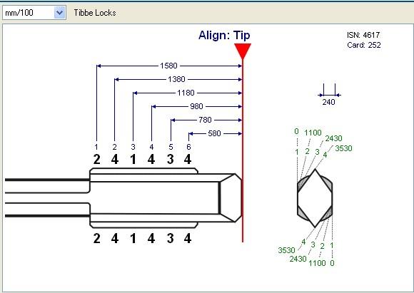 F021-II 6 Disc Ford Mondeo and Jaguar Lock Plug Reader User Manual