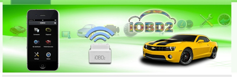 iobd2 communicate with iPhone by WIFI