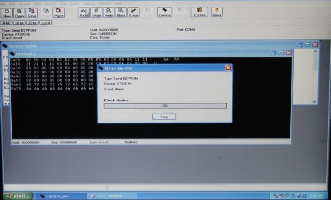 XPROG-M V5.3 software display 3