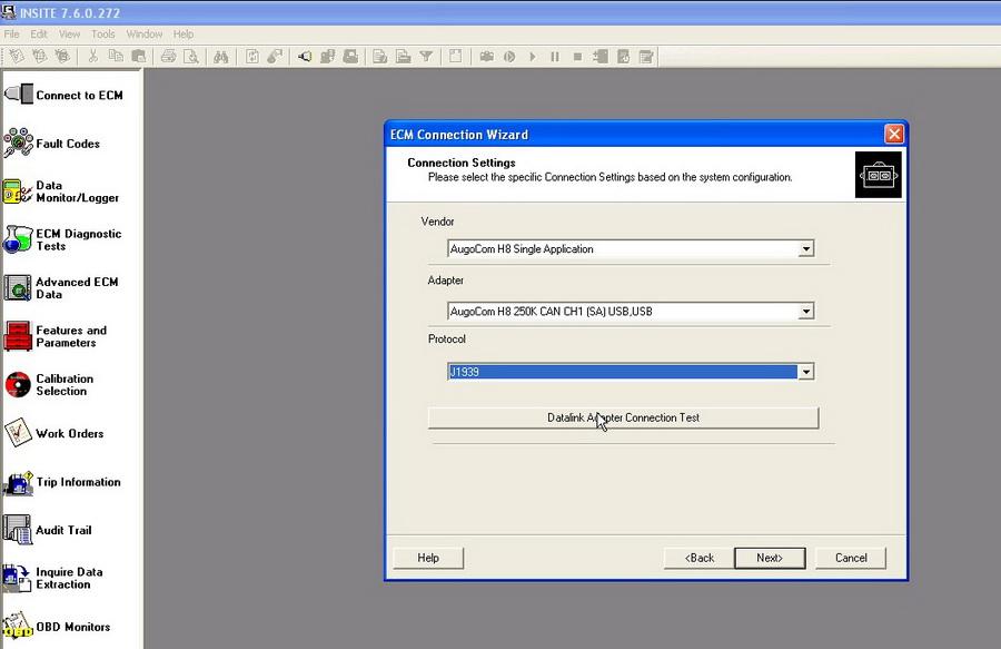 augocom H8 software display 1