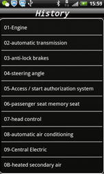 IOBD2 Diagnostic Tool display 8
