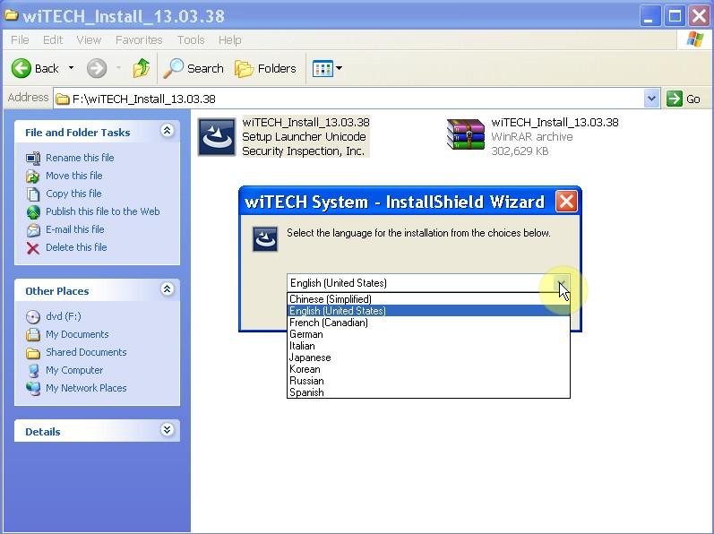 chrysler diagnostic tool witech pod language