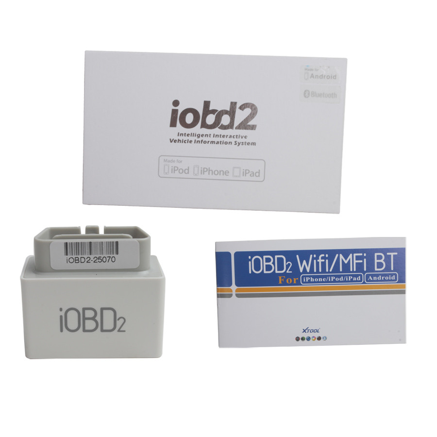 iOBD2 Bluetooth OBD2 EOBD Auto Scanner package