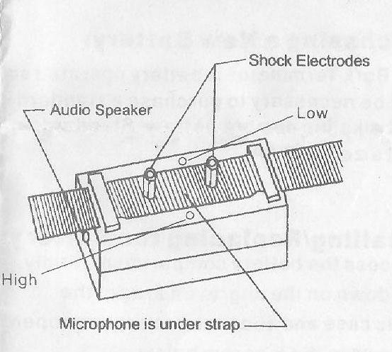 BT-3 Temminator Stop Barking Shock Collar Control Bark-2