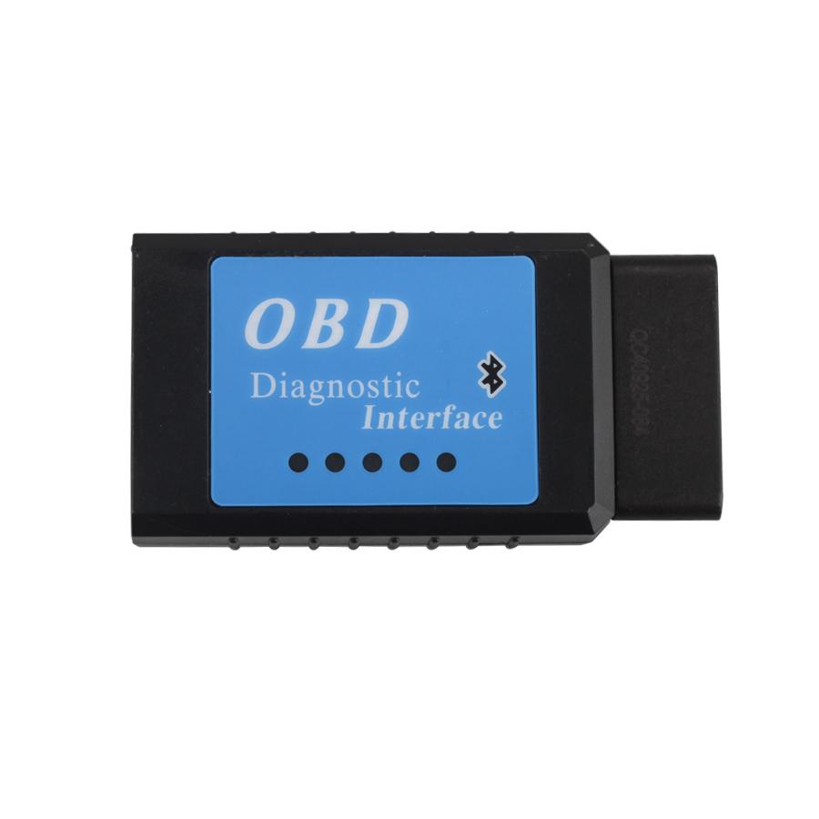 ELM327 Bluetooth Version CAN BUS EOBD OBDII Scan Tool Software V2 1
