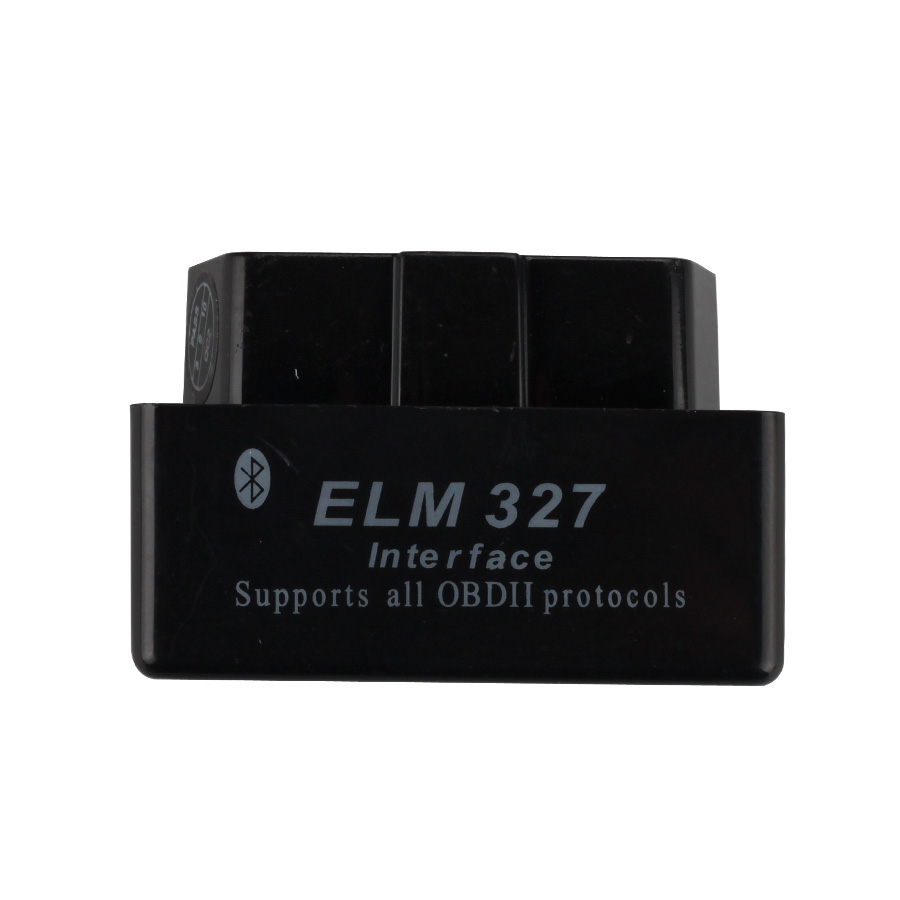 Super MINI ELM327 Bluetooth Version OBD2 Diagnostic Scanner Firmware V2 1  (Black) Free Shipping
