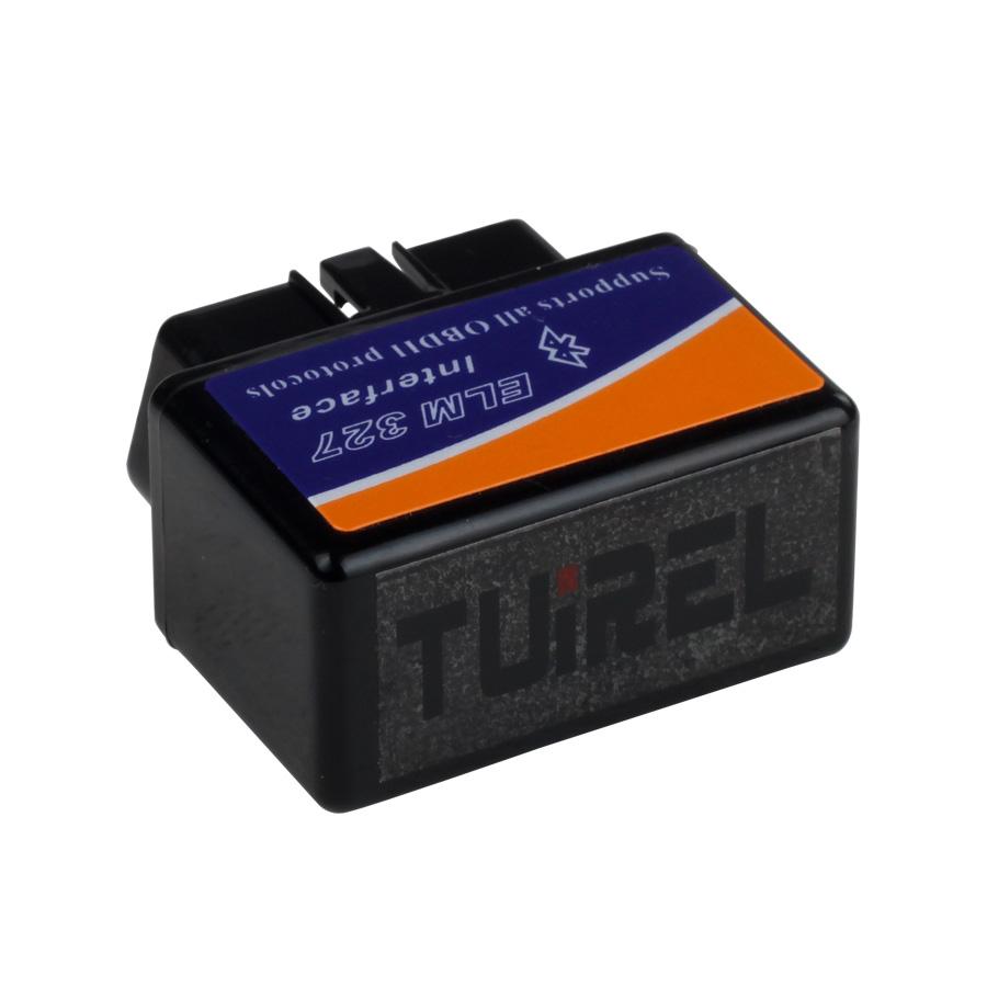 MINI ELM327 Bluetooth OBD2 (Black) Firmware V2 1