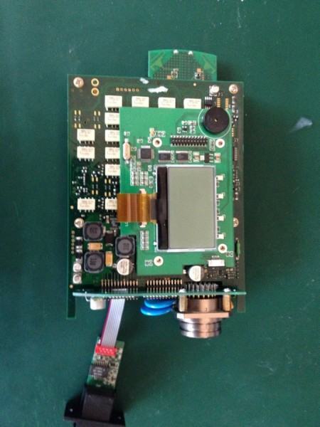 MB SD C4 PCB Board Display-2