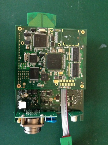 MB SD C4 PCB Board Display-1