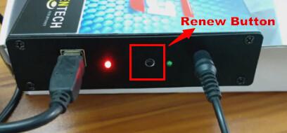 Kess V2 Renew Button