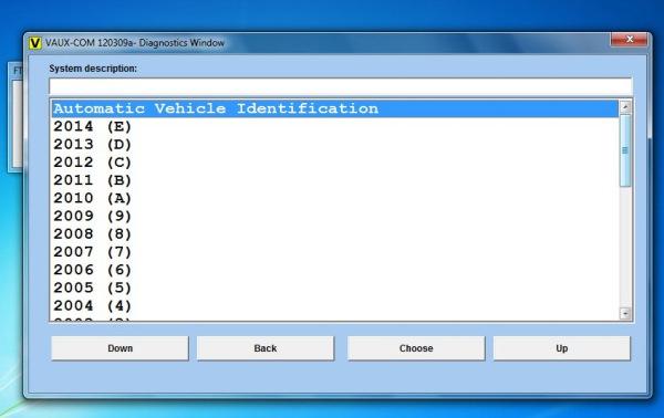 Opcom OP-Com 2010 V Can OBD2 for OPEL Firmware Software  Display 2
