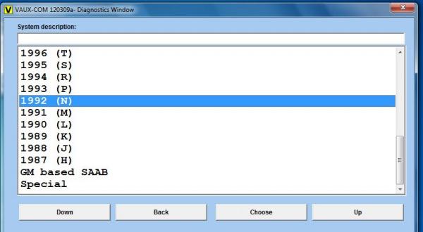 Opcom OP-Com 2010 V Can OBD2 for OPEL Firmware Software  Display 4