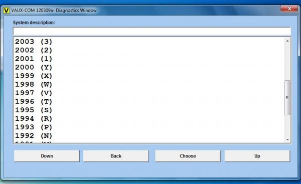 Opcom OP-Com 2010 V Can OBD2 for OPEL Firmware Software  Display 3