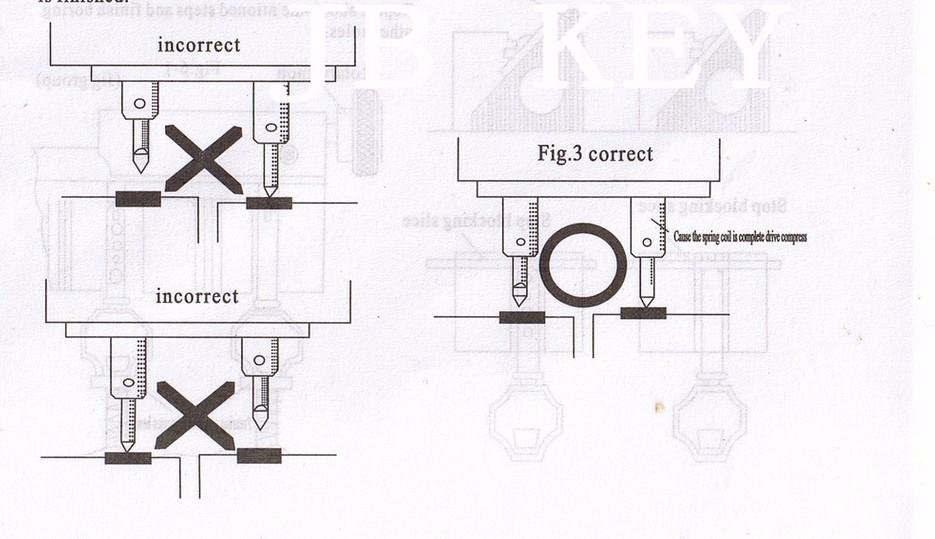 368A Key Cutting Duplicated Machine Instruction 2