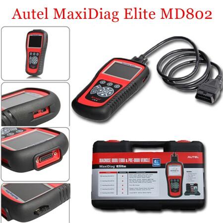 MaxiDiag Elite MD802 Package Display