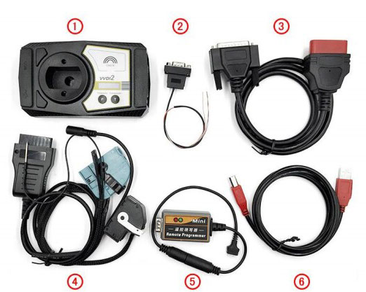 VVDI2 Package List