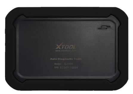 Back View of EZ300 Tablet Display