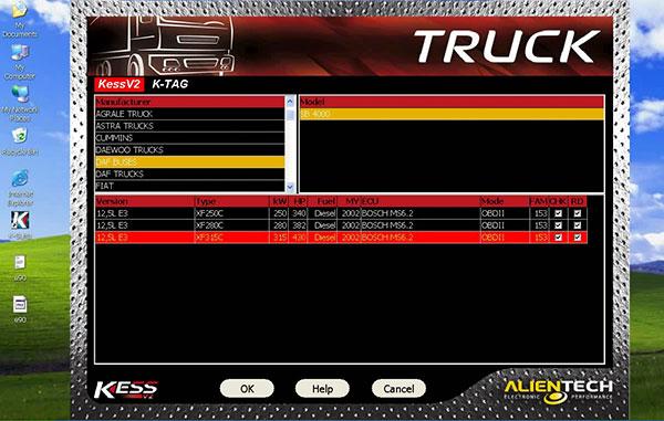 Truck Version KESS V2 Display 4
