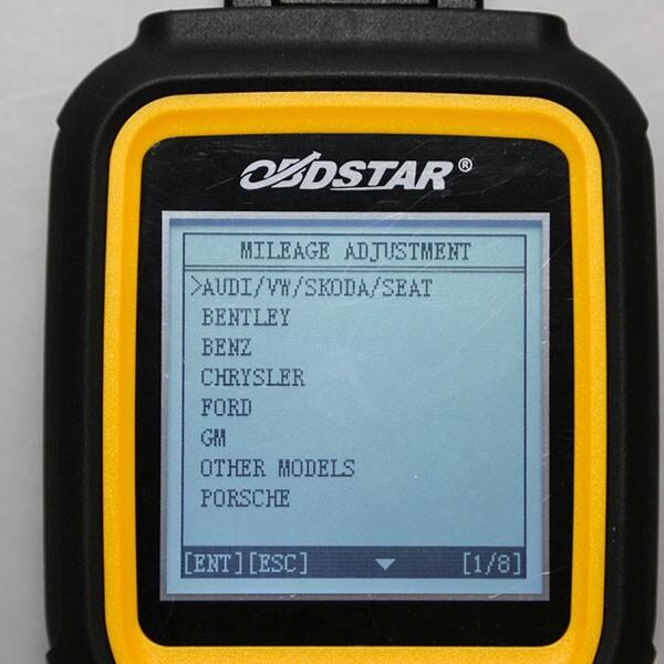 OBDSTAR X300M Display