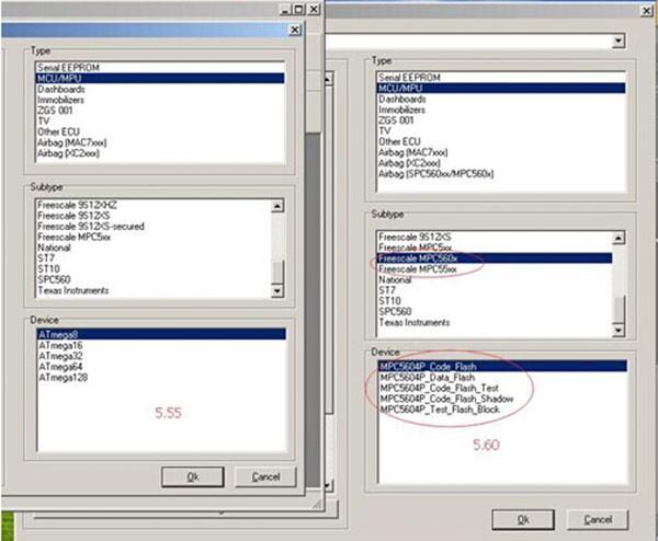 XPROG-M V5.60 Additional Function Display 1