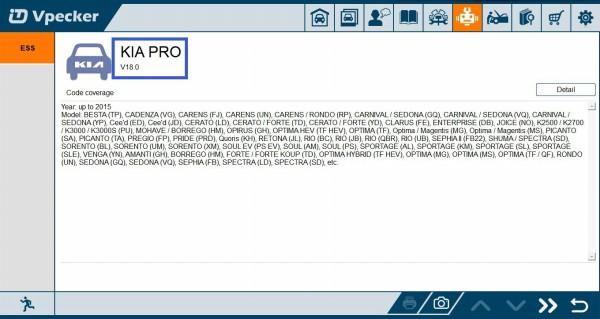 Vpecker Update Kia Pro