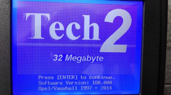 GM TECH2 Opel Card Software Update 1