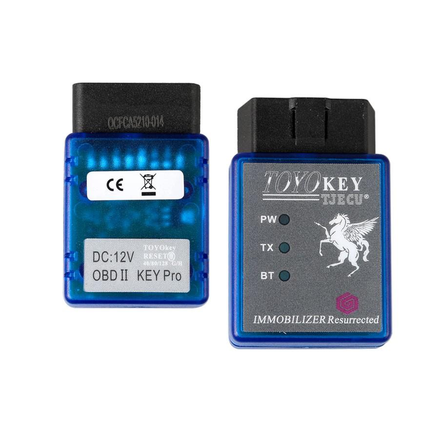 Free Shipping TOYO KEY OBD II KEY PRO Support Toyota G & H All Key Lost  Work with MINI CN900 & MINI ND900