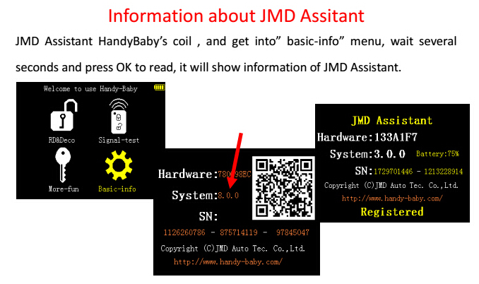 JMD Assistant Handy Baby OBD Adapter 9