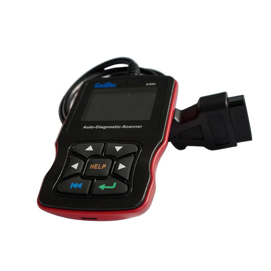 Newest Creator C500 Auto Diagnostic Scanner for OBDII / EOBD / BMW/ Honda/  Acura