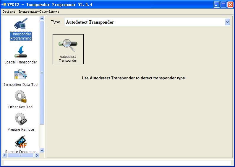 VVDI2 – Transponder Programmer software