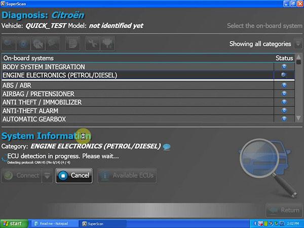 New PSA-COM PSACOM  Software 2