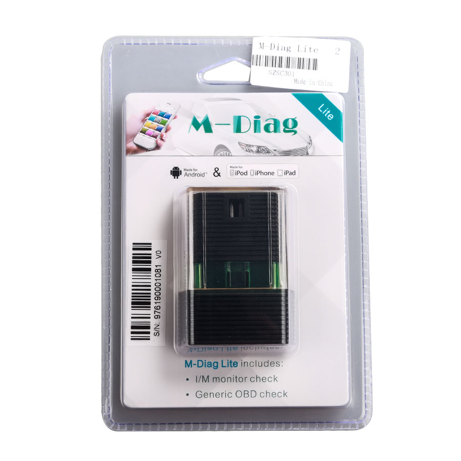 Original Launch Golo M-Diag Lite EZdiag for IOS Android Built-in Bluetooth  OBDII Diagnostic Tool with Special Functions