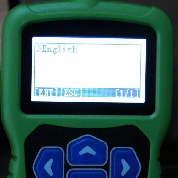 OBDSTAR F108+ Language