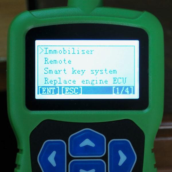 OBDSTAR F108+ Function Menu