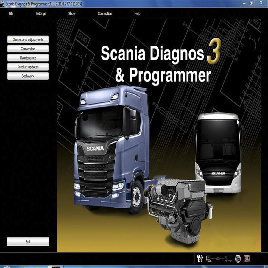 Car Repair Tools Back To Search Resultsautomobiles & Motorcycles Wifi V2.39 Scania Vci-3 Heavy Duty Truck Scanner Scania V2.31 Sdp3 Vci-3 Scanner 2.31 Sdp3 Vci3 Scania Vci3 Truck Diagnosis
